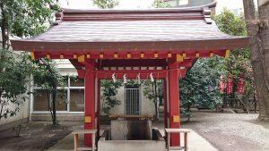 日枝神社日本橋摂社 手水舎