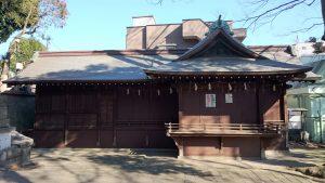 三宿神社 神楽殿