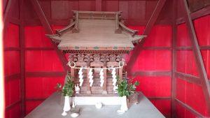 日新稲荷神社 (谷保天満宮発祥之地) 社殿