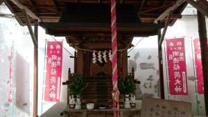 日枝神社日本橋摂社 明徳稲荷神社 社殿
