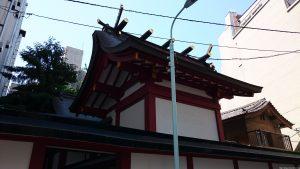 日枝神社日本橋摂社 本殿