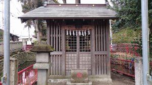 谷保天満宮 厳島神社 社殿