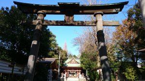 前川神社 三の鳥居