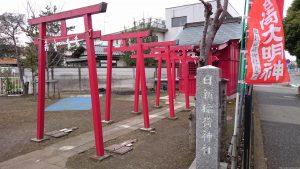 日新稲荷神社 (谷保天満宮発祥之地) 鳥居