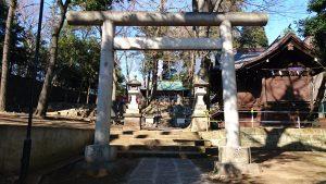 三宿神社 二の鳥居