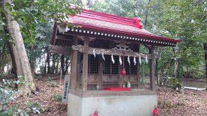 谷保天満宮 稲荷神社・蒼守稲荷神社・淡島神社 社殿