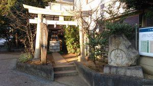 天沼熊野神社 白玉稲荷神社 鳥居