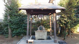 天沼熊野神社 手水舎