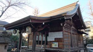 天沼熊野神社 拝殿