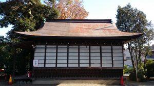 前川神社 神楽殿