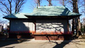 野澤稲荷神社 神楽殿