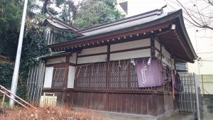 出世稲荷神社 社殿