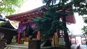 日枝神社日本橋摂社 拝殿