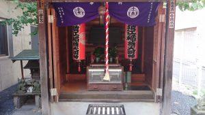 猿江稲荷神社 社殿