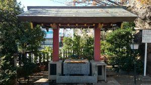 前川神社 手水舎