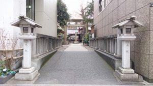 日枝神社日本橋摂社 参道