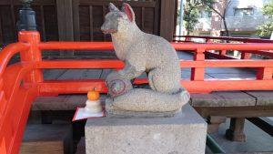 野澤稲荷神社 神狐 (2)