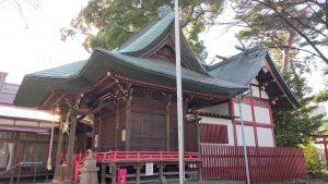 野澤稲荷神社 社殿全景
