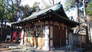 三宿神社 拝殿