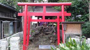 長崎神社 小柳稲荷神社 社殿