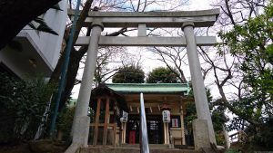 駒込妙義神社 二の鳥居