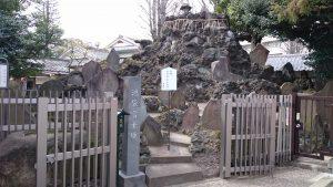 池袋氷川神社 池袋富士塚