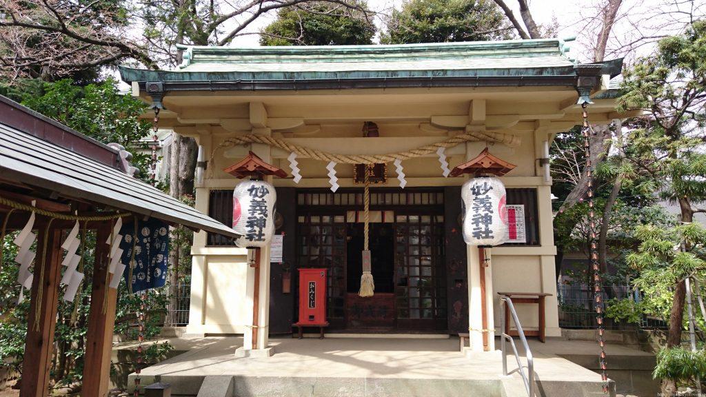 妙義神社(駒込)