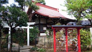 子安稲荷神社 拝殿