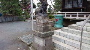 多田神社 狛犬 (1)