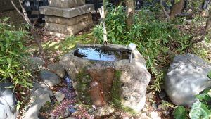 子安稲荷神社 水盤