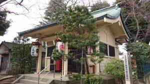 駒込妙義神社 拝殿