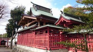 府中小野神社 (小野宮) 本殿