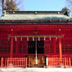 多摩市・小野神社(武蔵国一之宮)