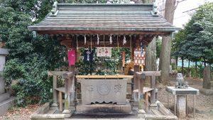池袋御嶽神社 手水舎