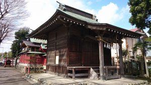 府中小野神社 (小野宮) 社殿全景