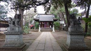長崎神社 参道