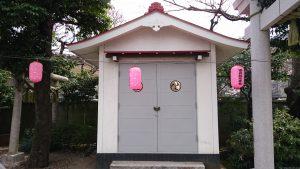 染井稲荷神社 神輿庫