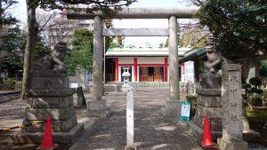 池袋氷川神社 二の鳥居