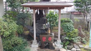 染井稲荷神社 手水舎