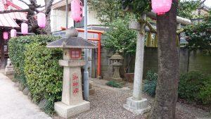 染井稲荷神社 末社稲荷社 (1)