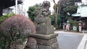 高円寺天祖神社 狛犬 (1)