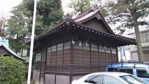 高円寺天祖神社 神楽殿