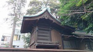 高円寺天祖神社 本殿