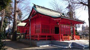 多摩市・小野神社 社殿