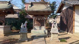 多摩市・小野神社 稲荷社