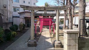 高円寺天祖神社 田中稲荷神社 鳥居