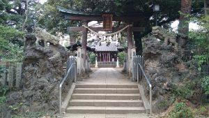 長崎神社 二の鳥居