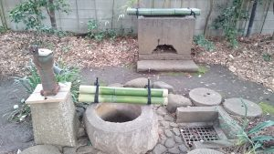 長崎神社 十羅刹女水盤・井戸