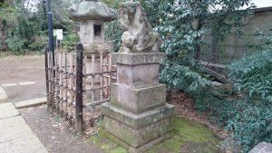 長崎神社 大正狛犬 (2)
