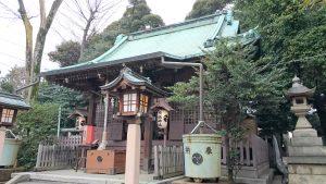 高円寺天祖神社 拝殿